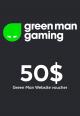 Green Man Games Website / 50 USD Digital Card
