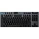 كيبورد الجيمنغ الميكانيكي G915 من Logitech / لاسلكي / حجم قصير / مع اضاءة RGB