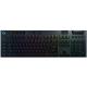 كيبورد الجيمنغ الميكانيكي G915 من Logitech / لاسلكي / حجم كامل / مع اضاءة RGB