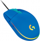 ماوس الجيمنغ Logitech G203 / سلكي ومع اضاءة RGB / ازرق