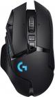 ماوس الجيمنغ Logitech G502 / لاسلكي ومع اضاءة RGB وحساس Hero 25K