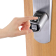 قفل الباب الذكي / يعمل بالبصمة و البطاقة و الجوال
